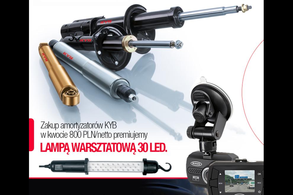 Produkty KYB – BENDIX w promocji i – specjalne ceny na produkty SAMKO w Motogamie