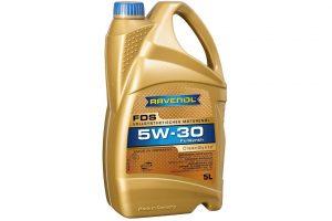 Olej silnikowy FDS SAE 5W-30 – nowość Ravenol