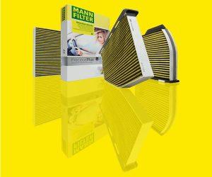 Filtr kabinowy MANN-FILTER - czyste powietrze wsamochodzie