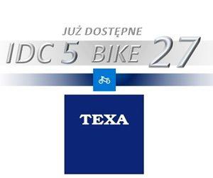 Oprogramowanie IDC5 BIKE 27 TEXA zaktualizowane