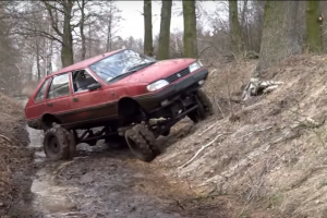 Polonez… monster truck