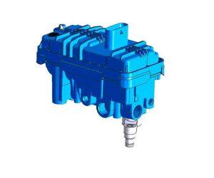 Tak działa turbosprężarka z zaworem elektronicznym chłodzonym wodą