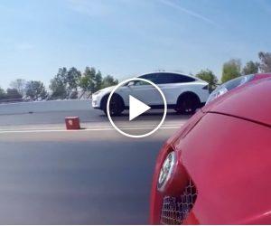 Jak szybki i mocny jest SUV na prąd? Bardzo