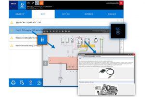 Interaktywne schematy - nowość w oprogramowaniu TEXA IDC5