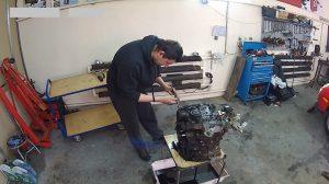Silnik z trójkątnym tłokiem – jak rozebrać?