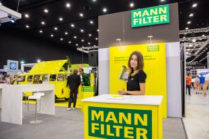 MANN-FILTER na targach ProfiAuto Show 2017