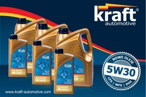 Kraft wprowadza nowe oleje syntetyczne