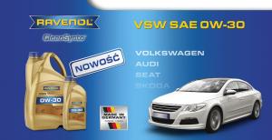Nowy, silnikowy Ravenol VSW SAE 0W-30 CleanSynto