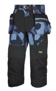 Gdy jest gorąco, długość ma znaczenie: letnie spodnie od Snickers Workwear