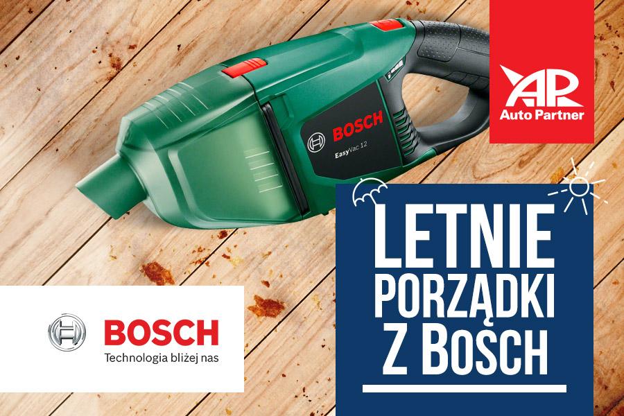 Letnie porządki z Bosch w Auto Partner SA