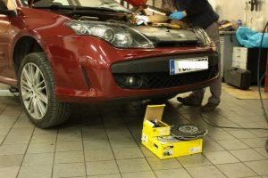 Wymiana sprzęgła w Renault Laguna III GT