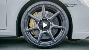 Obręcze kół z włókna węglowego według Porsche