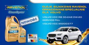 Nowy Ravenol silnikowy dla Volvo