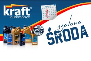 Oleje Kraft Automotive w promocji Szalone Środy
