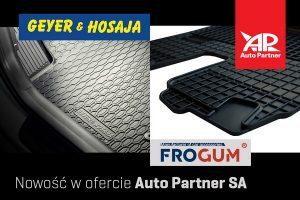 Nowość w ofercie Auto Partner SA – dywaniki gumowe