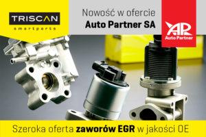 Zawory EGR Triscan w ofercie Auto Partner