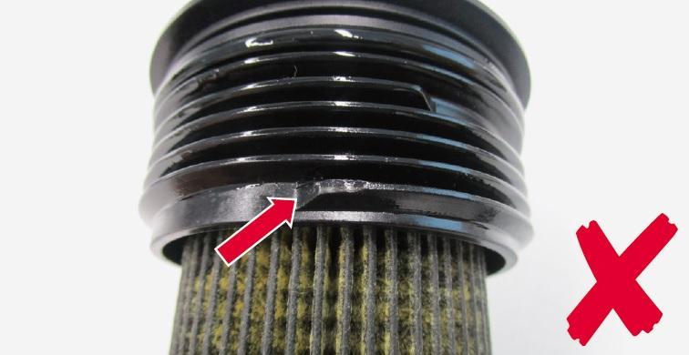 Nieszczelny Wkład Filtra Oleju W 1 6 I 2 0 Tdi Motofocus Pl