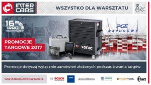 Promocje Targowe 2017 – Wyposażenie Warsztatów