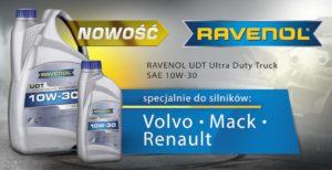 Nowość od Ravenol - UDT Ultra Duty Truck 10W-30