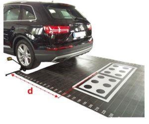 Zestaw kalibracji kamer (ADAS) do samochodów osobowych i ciężarowych