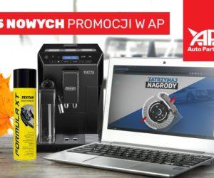 Pięć nowych promocji w Auto Partner SA