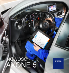 Nowy tablet diagnostyczny TEXA AXONE 5