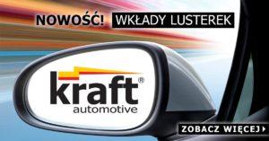 Wkłady do lusterek zewnętrznych Kraft