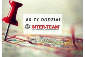 Inter-Team otworzył 80-ty oddział