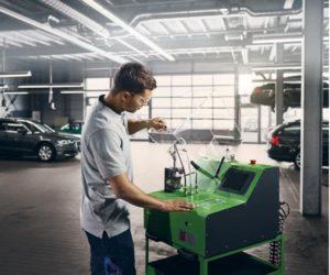 Bosch EPS 118 – próbnik wtryskiwaczy Common Rail wszystkich marek