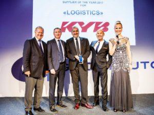 KYB dostawcą roku w kategorii Logistyka