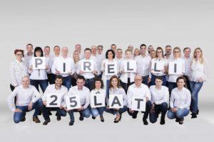 Historia Pirelli z okazji 25-lecia firmy w Polsce