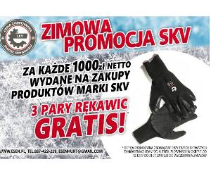 Zimowa promocja SKV