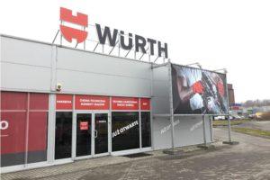Nowe sklepy stacjonarne Würth Polska