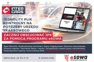 Obsługa JPK w programie eSOWA – Elektroniczny System Obsługi Warsztatu