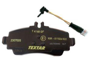 Klocki z czujnikami zużycia TEXTAR