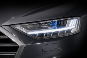 Koncepcyjne oświetlenie HELLA w nowym Audi A8
