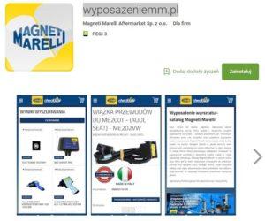Katalog Magneti Marelli dostępny na smartphonach