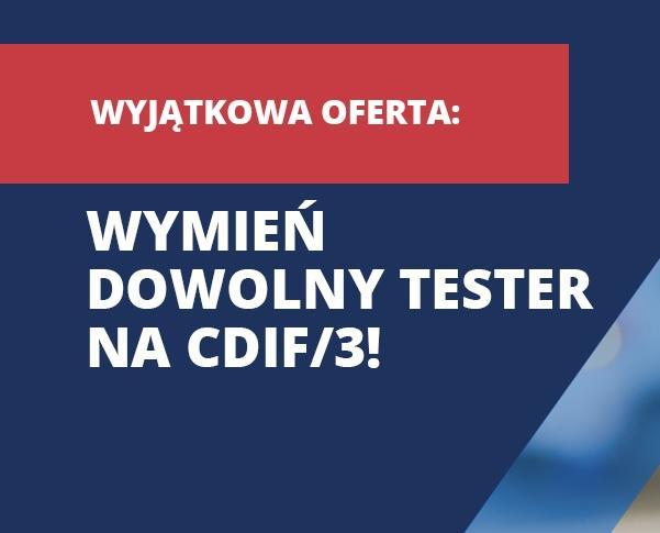 Promocja testerów CDIF/3