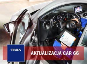Aktualizacja oprogramowania CAR 66 TEXA