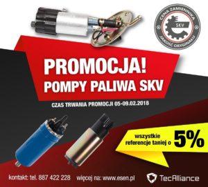 Promocja pomp paliwa SKV