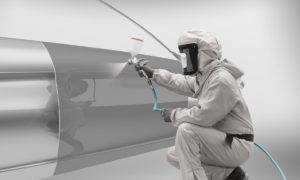 Renowacja lakierów zefektem płynnego metalu