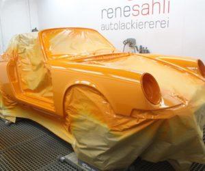 Pomarańczowy majstersztyk - renowacja klasycznego samochodu