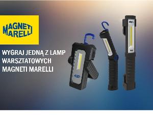 Lampy warsztatowe do wygrania w konkursie Magneti Marelli - wyniki