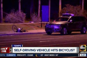 Pierwsza śmiertelna ofiara autonomicznego samochodu
