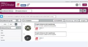 Nowa funkcja wyszukiwarki partsfinder firmy bilstein group