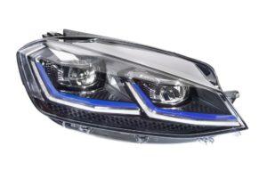 10 nowych reflektorów do VW GOLF VII
