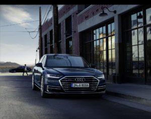 Diody OSRAM w reflektorach nowego Audi A8