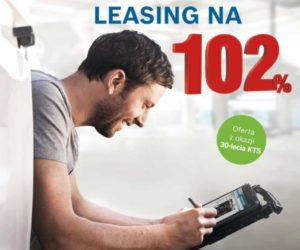 Promocyjny leasing na 102% z okazji 30-lecia testerów KTS