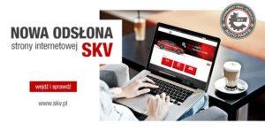 Nowa strona internetowa SKV