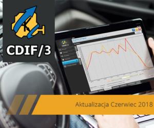 Czerwcowa aktualizacja systemu CDIF/3